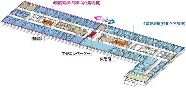 4階フロア図
